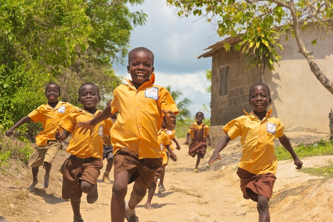 The Happy Faces of Ghana: Photo Essay by Ryan Bolton